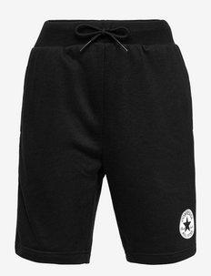 CNVB PRINT CHUCK PATCH SHORT - sportsshorts - black