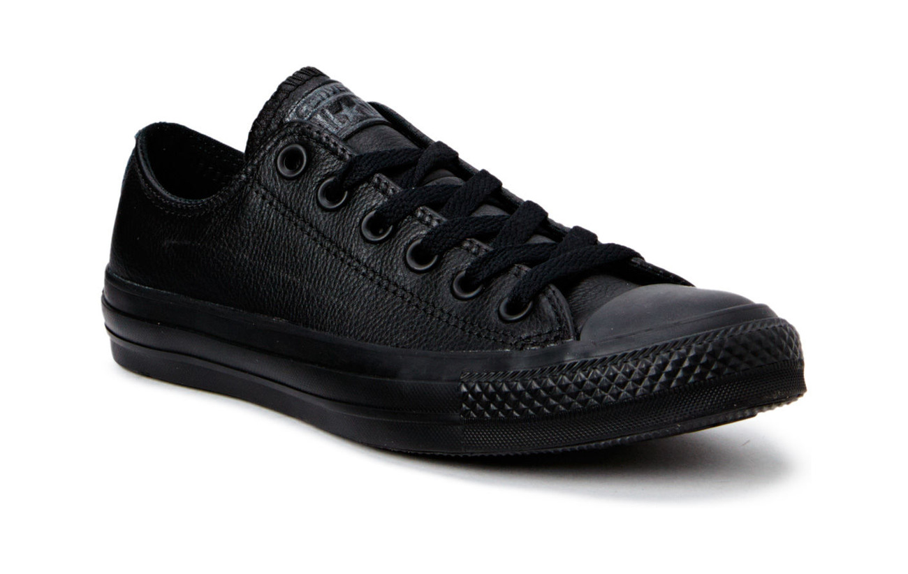 Converse All Star Mono Leather Ox - BLACK