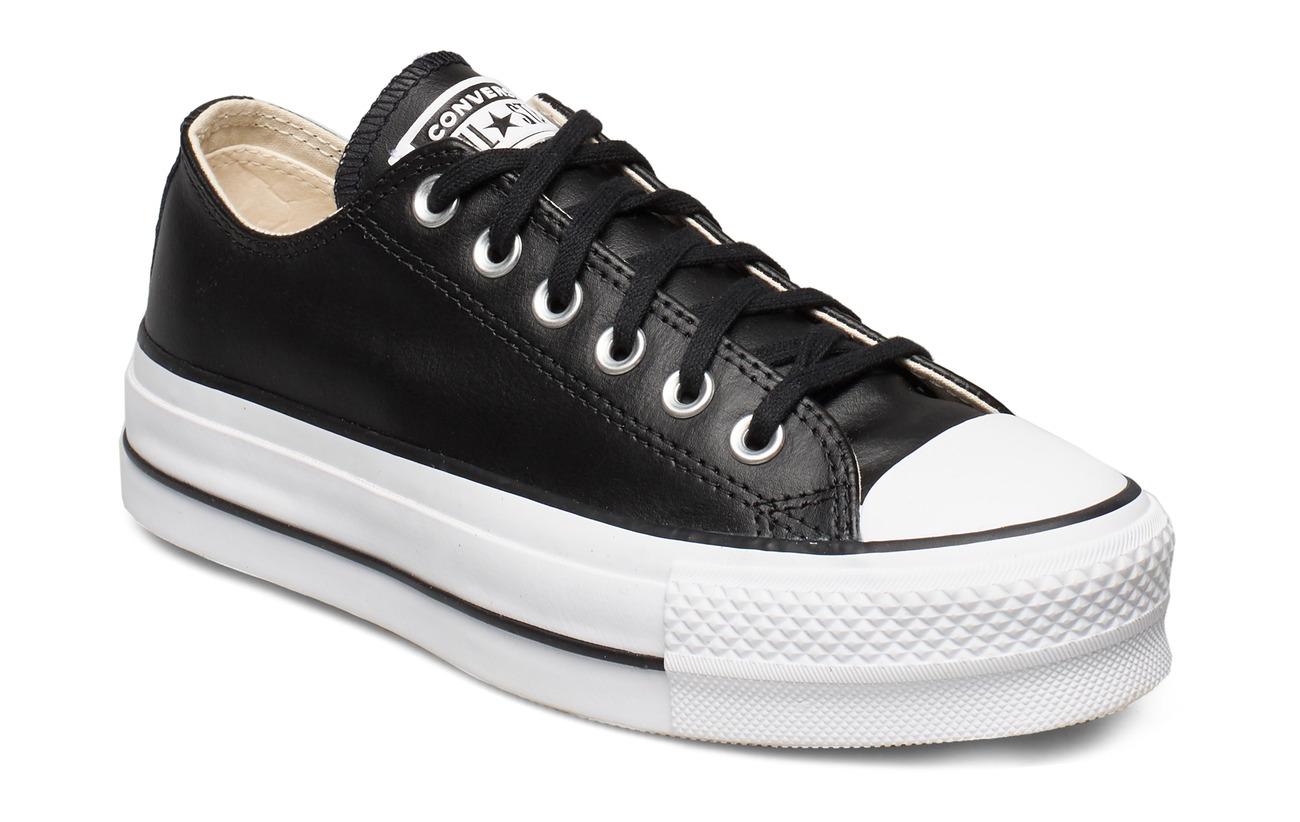 Converse Ctas Lift Clean Ox (Black
