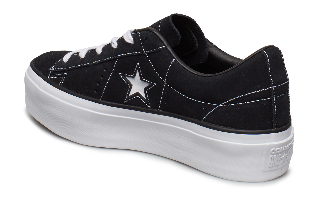 Oxblack Star black whiteConverse One Platform Nm0w8n