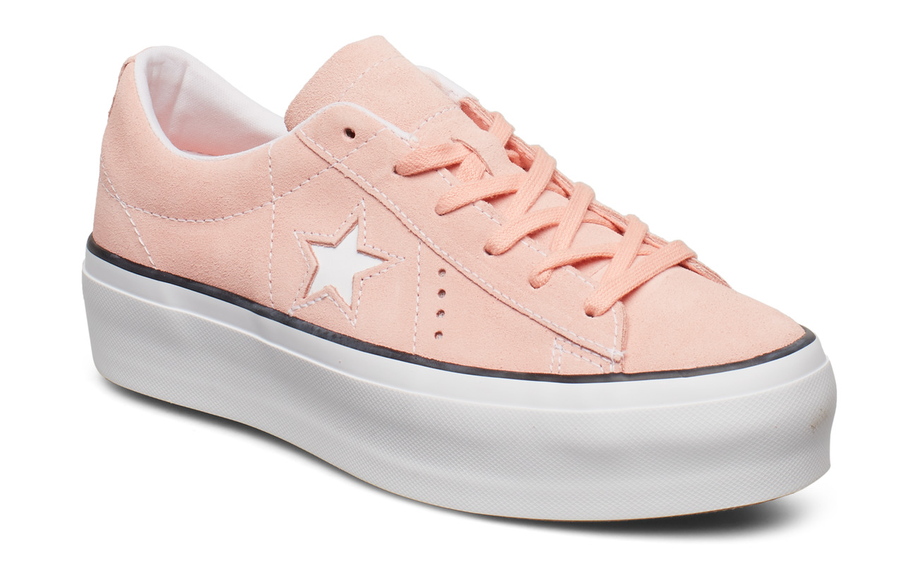 Converse ONE STAR PLATFORM OX - BLEACHED CORAL