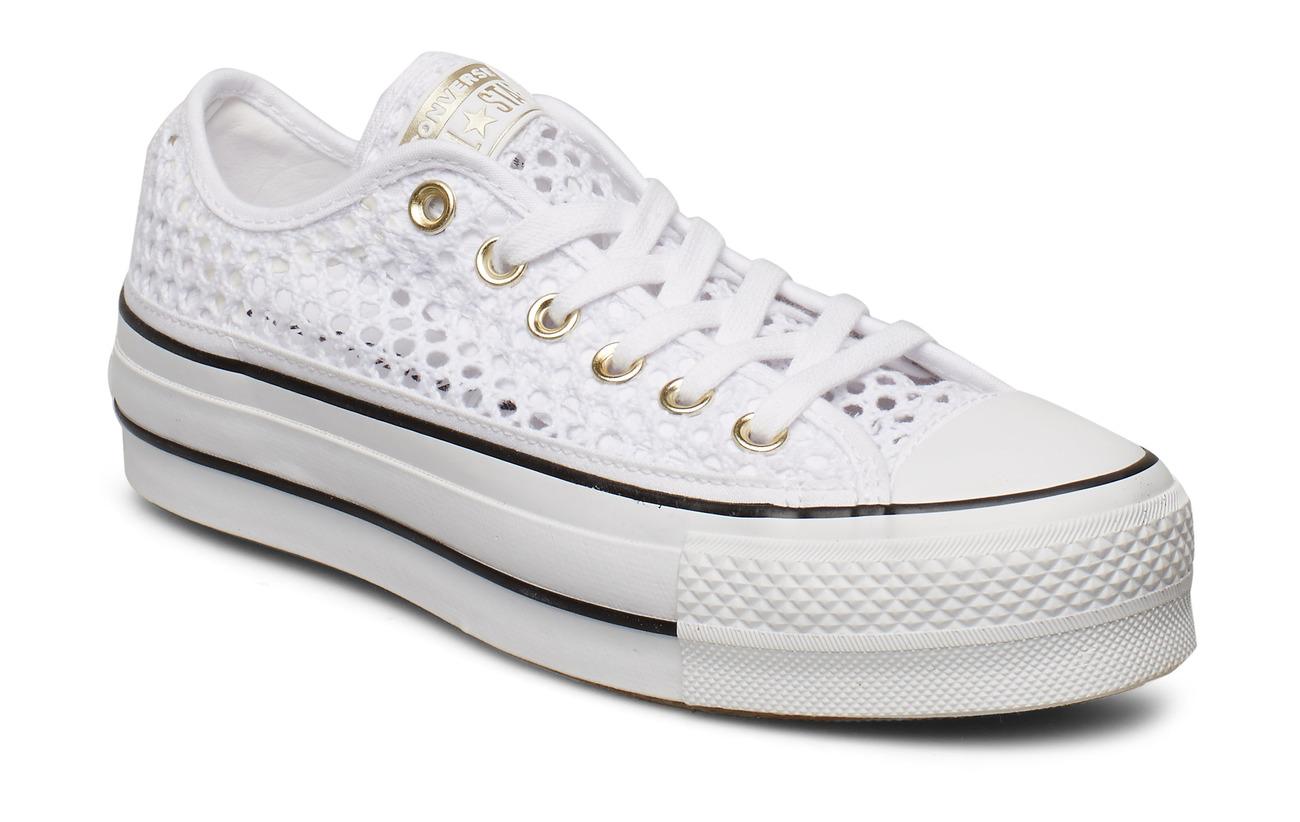 Converse CTAS LIFT OX - WHITE/WHITE/BLACK