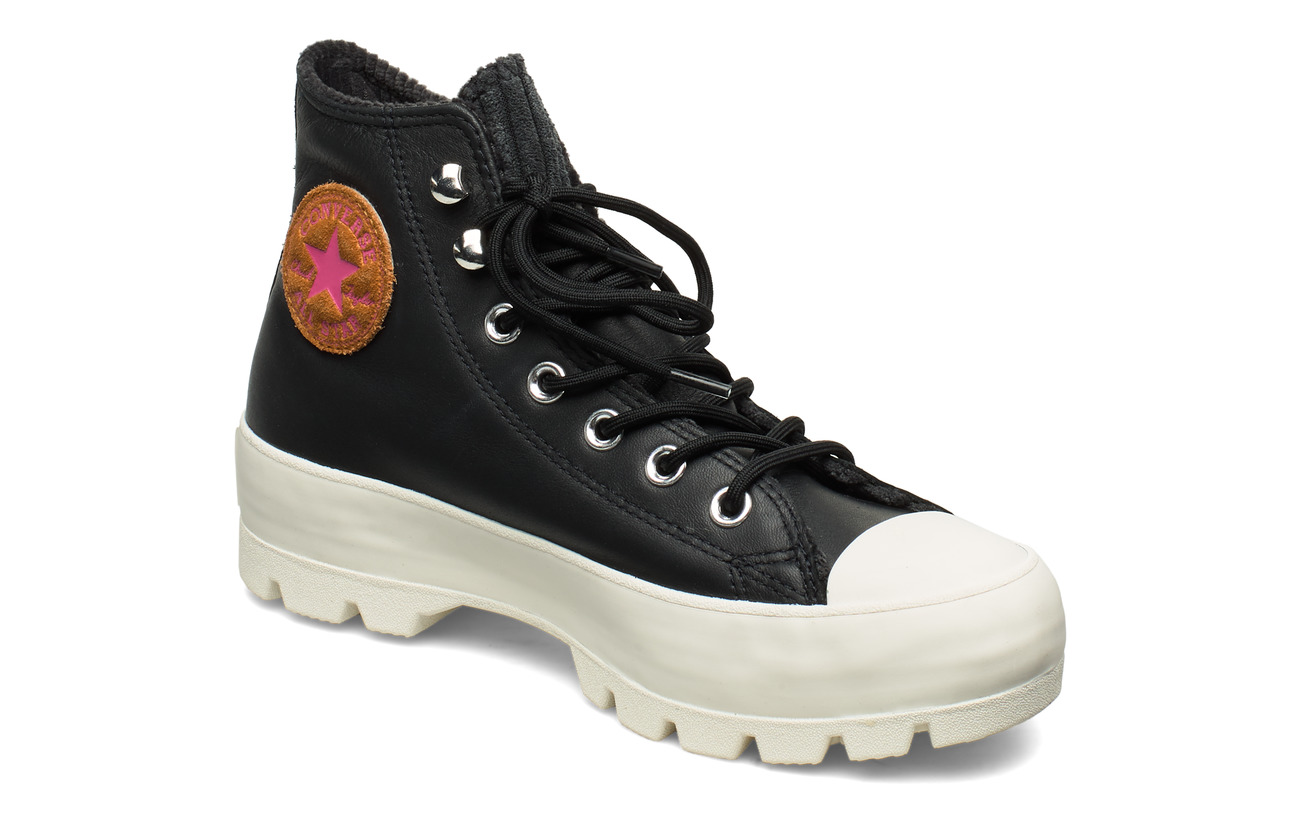 Converse CTAS LUGGED WINTER HI - BLACK/MOD PINK/EGRET