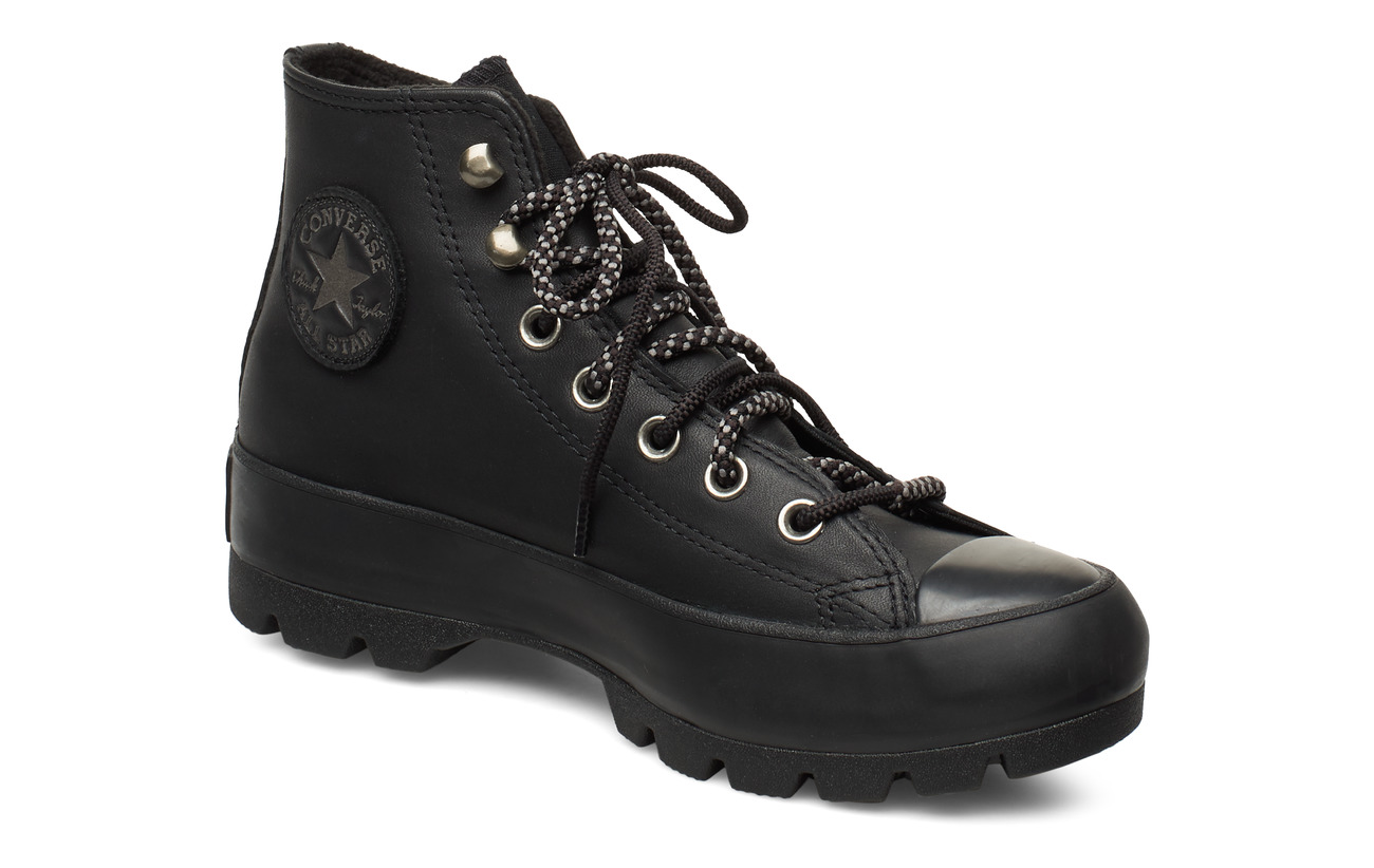 Converse CHUCK TAYLOR ALL STAR LUGGED WINTER - BLACK/THUNDER GREY/MOUSE