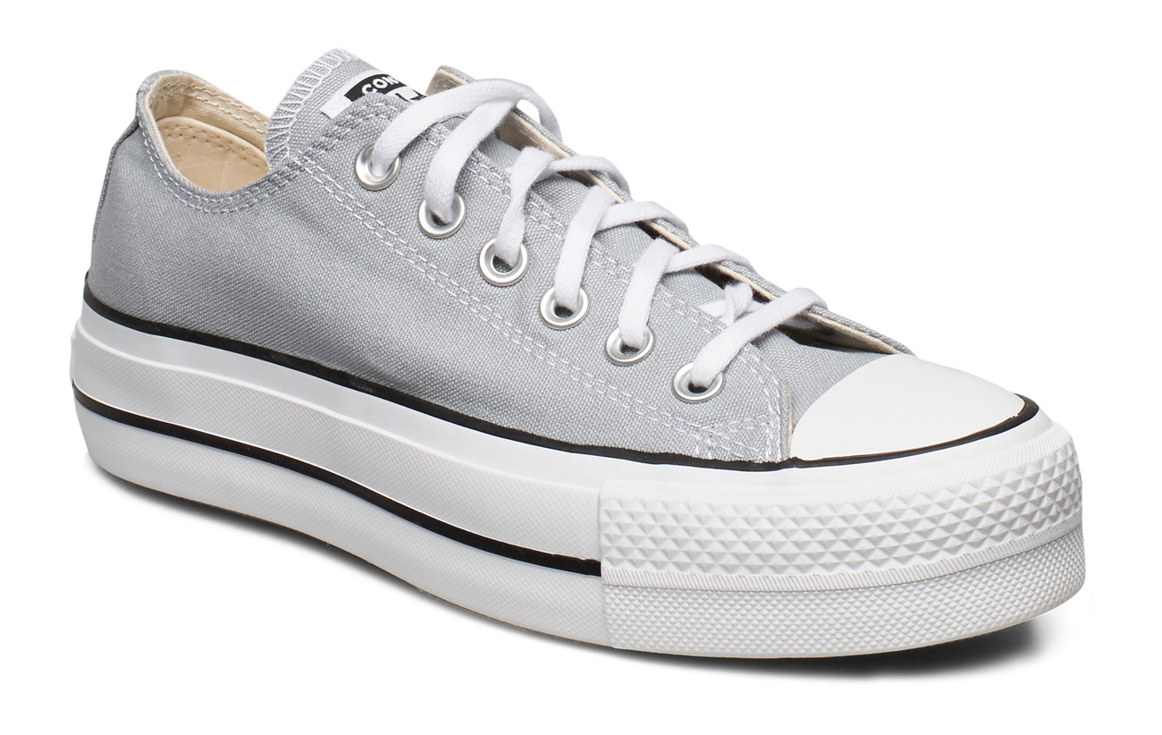 Converse Chuck Taylor All Star Lift - WOLF GREY/WHITE/BLACK