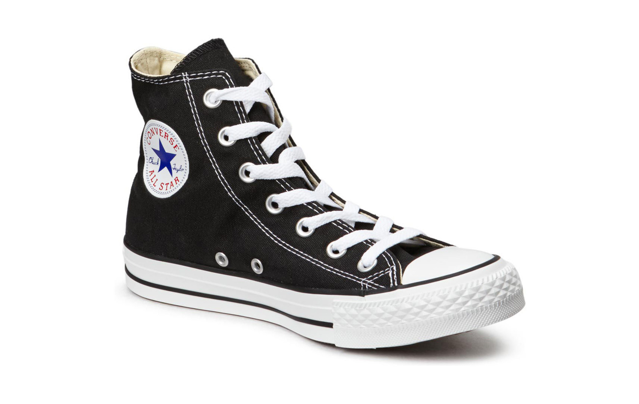 Converse All Star Canvas Hi - BLACK