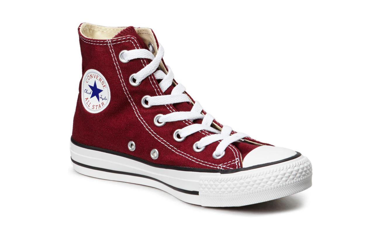 Converse All Star Canvas Hi - MAROON