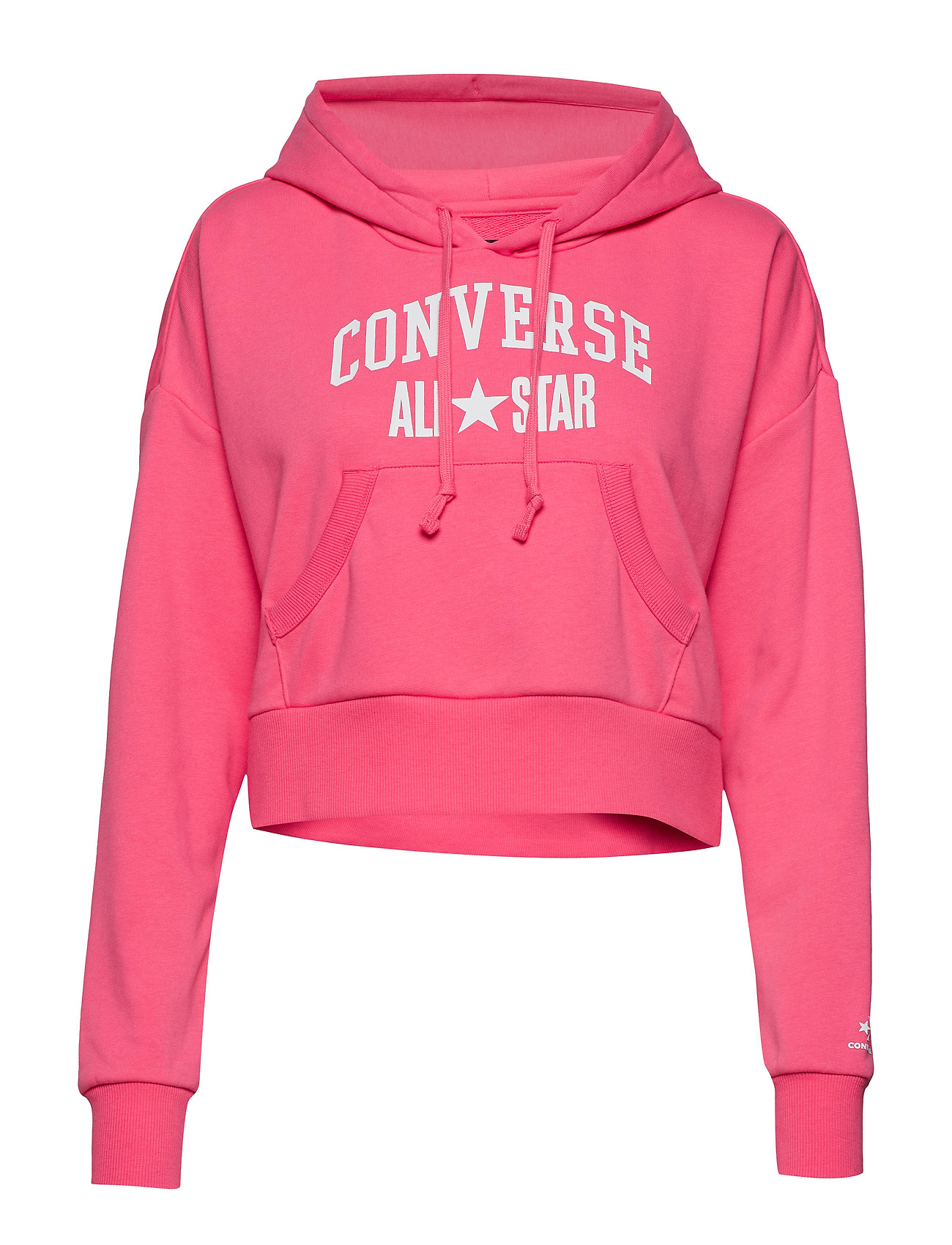 Converse Converse All Star Pullover Hoodie - STAWRBERRY JAM