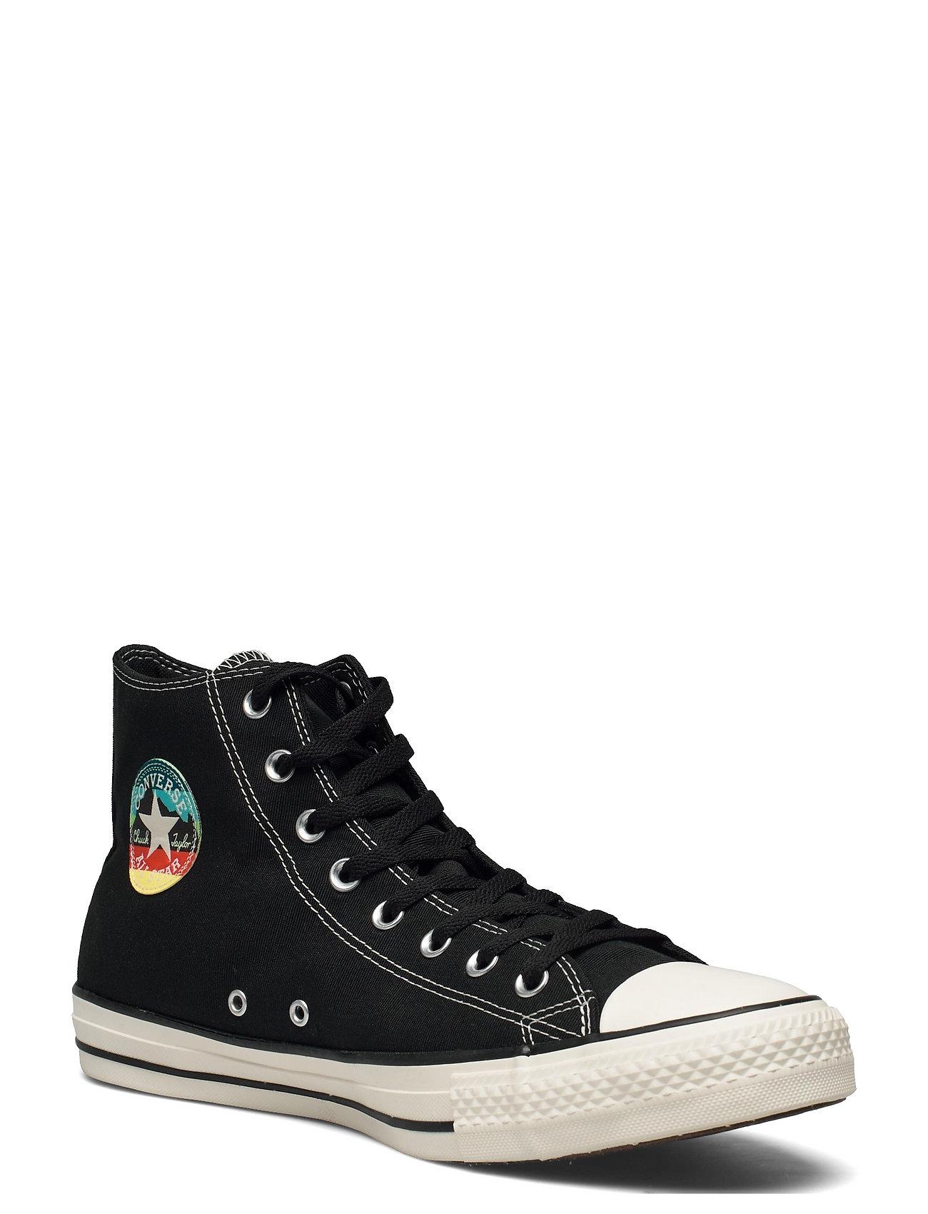Image of Ctas Hi Black/Egret/Black High-top Sneakers Sort Converse (3534657737)