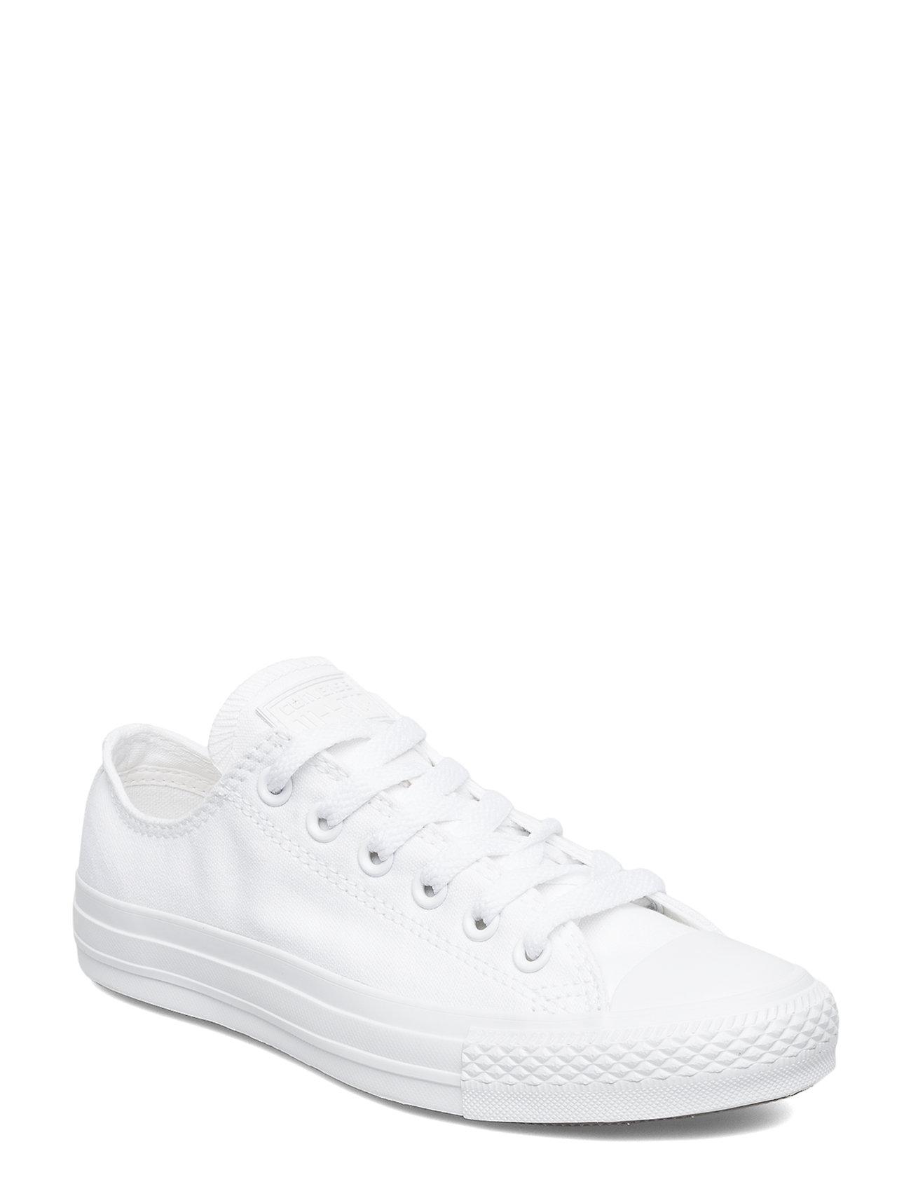 Converse All Star Canvas Ox - WHITE MONOCHROME