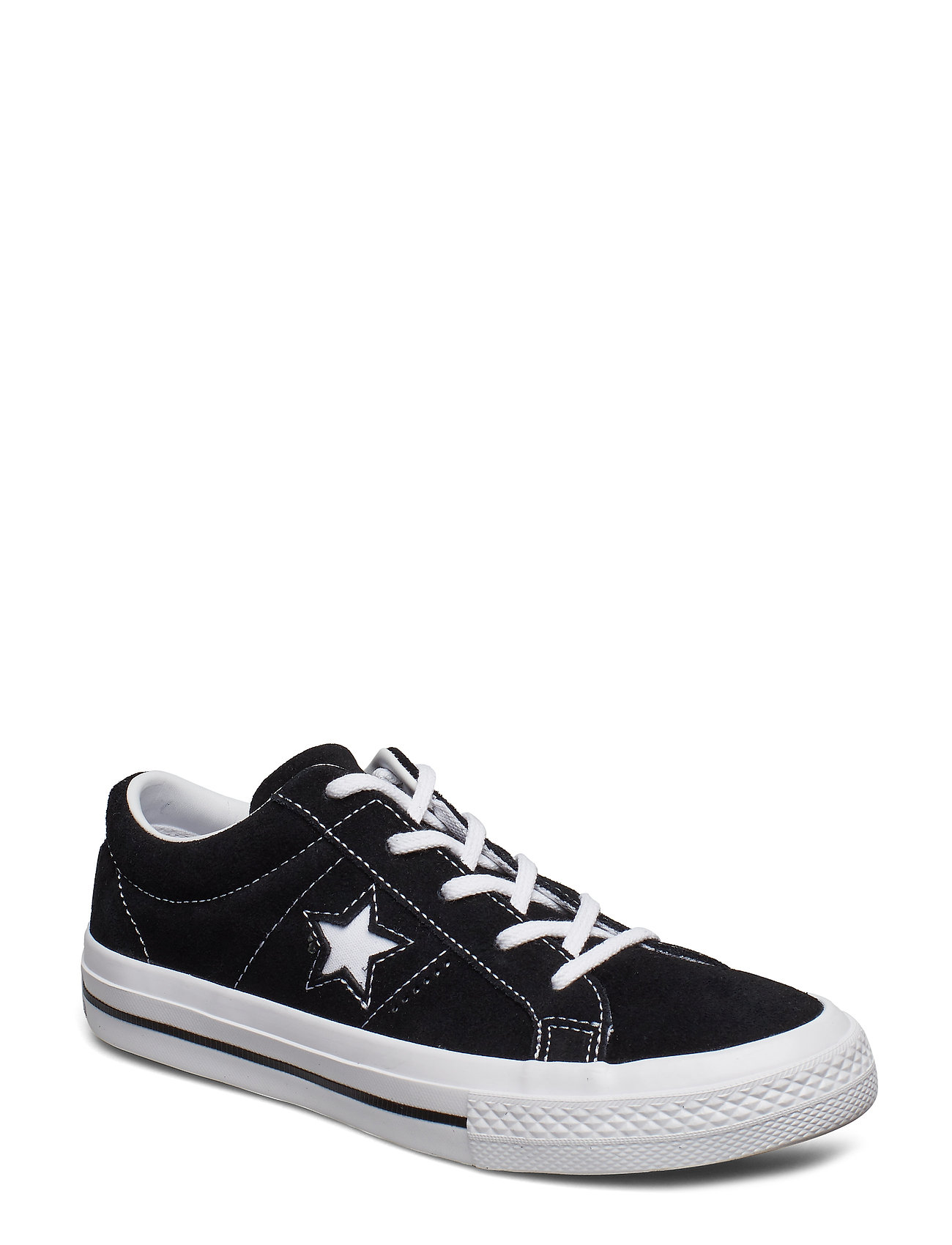Converse ONE STAR OX - BLACK/WHITE/WHITE
