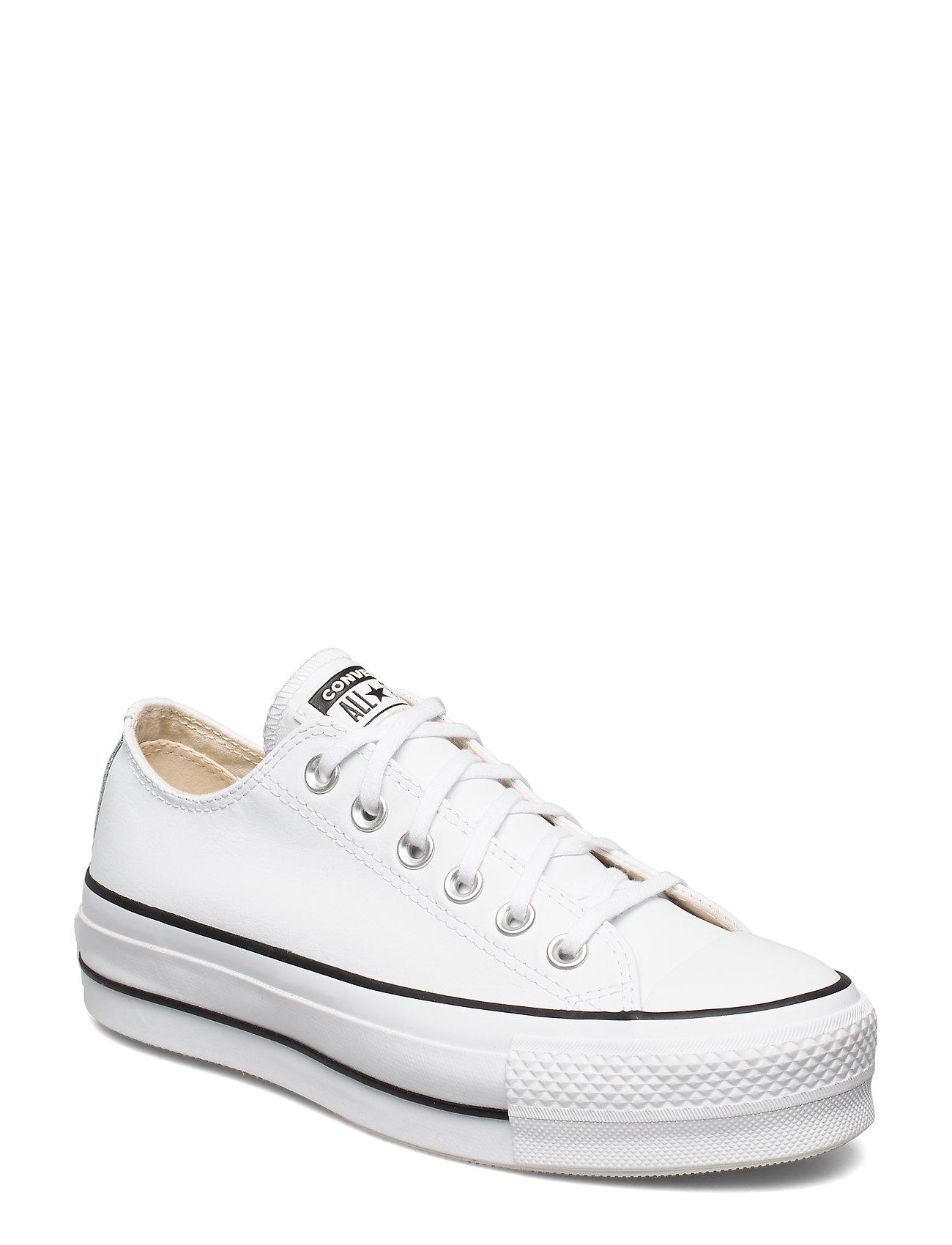 Converse CTAS LIFT CLEAN OX WHITE/BLACK/WHITE - WHITE/BLACK/WHITE
