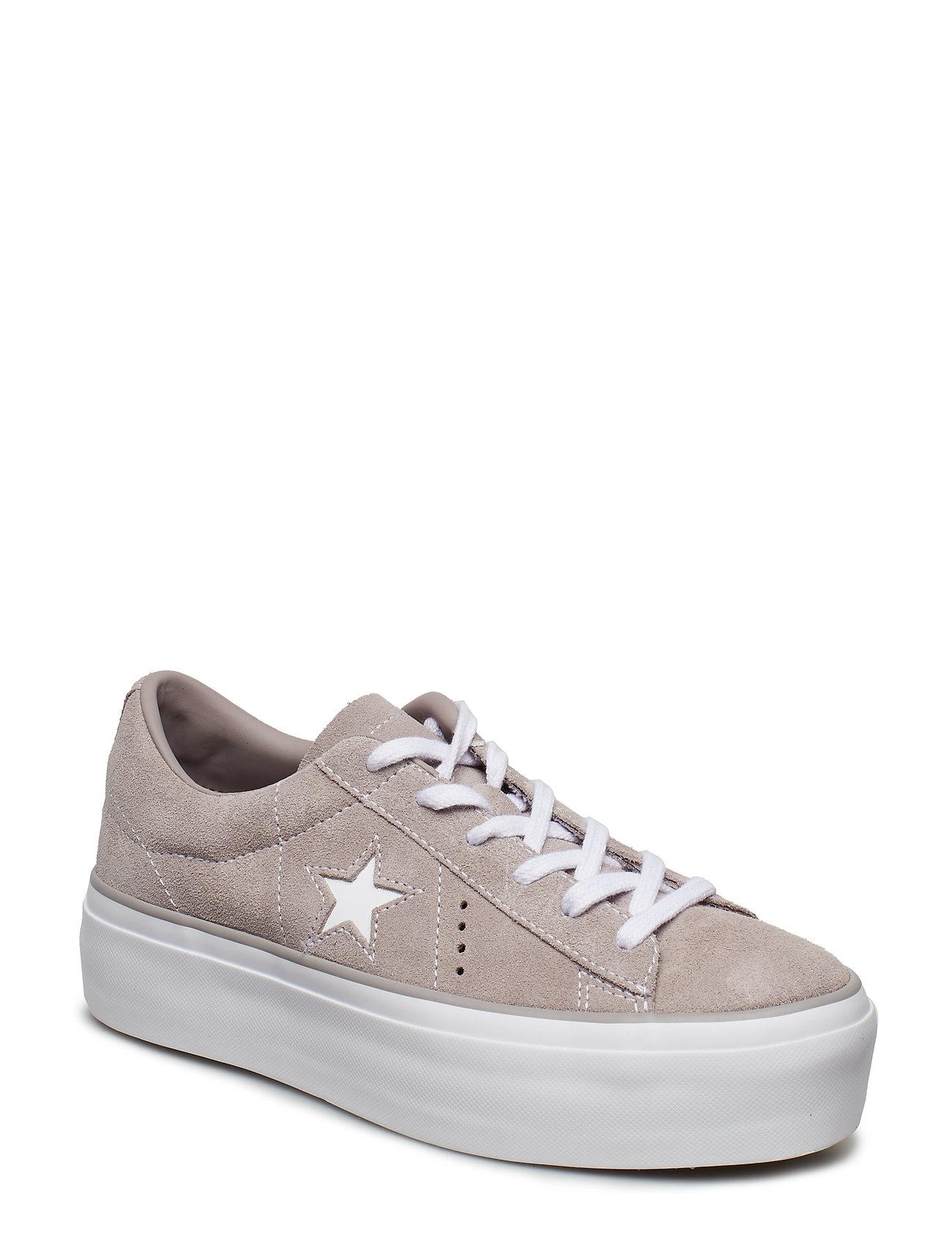 58ac6fdb6e2 MERCURY GREY/MERCURY GREY Converse One Star Platform Ox sneakers for ...