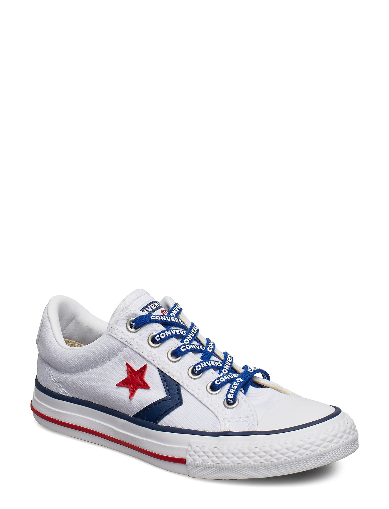 a3ee464b2ea WHITE/NAVY/GYM RED Converse Star Player Ev Ox sneakers for børn ...