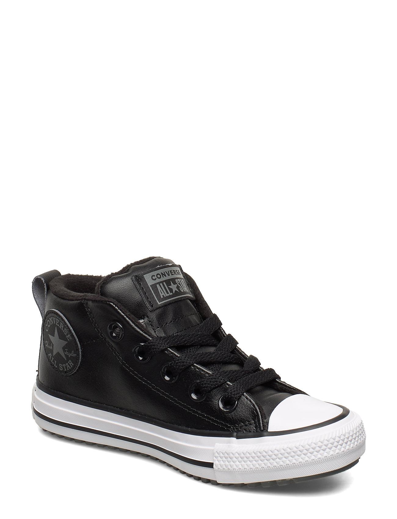 Converse CHUCK TAYLOR ALL STAR STREET BOOT - MID - BLACK