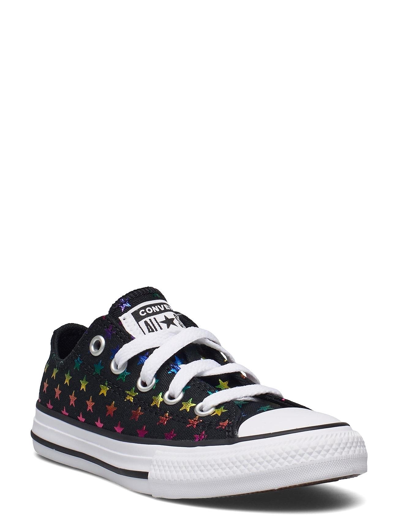 Image of Ctas Ox Black/White/Black Low-top Sneakers Sort Converse (3533872011)