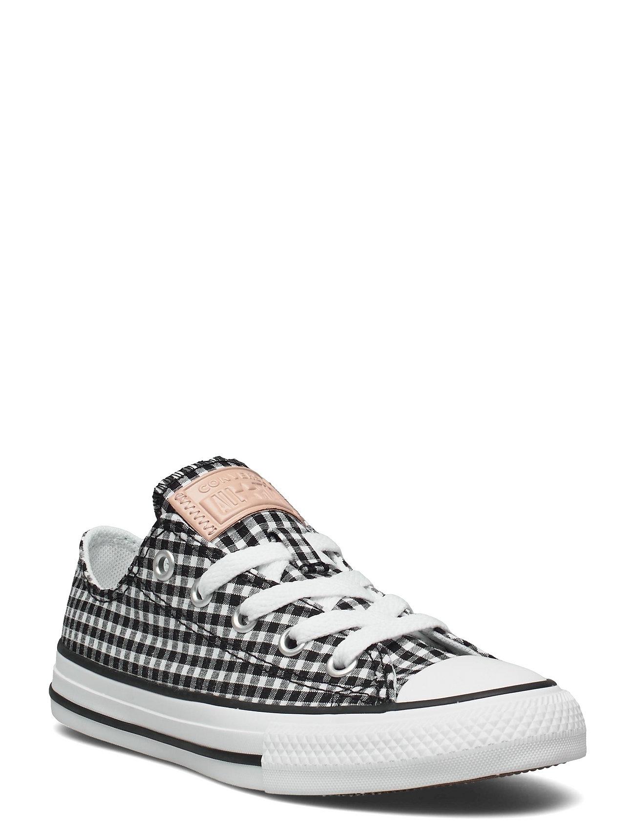 Image of Ctas Ox Black/White/Black Low-top Sneakers Hvid Converse (3534189937)