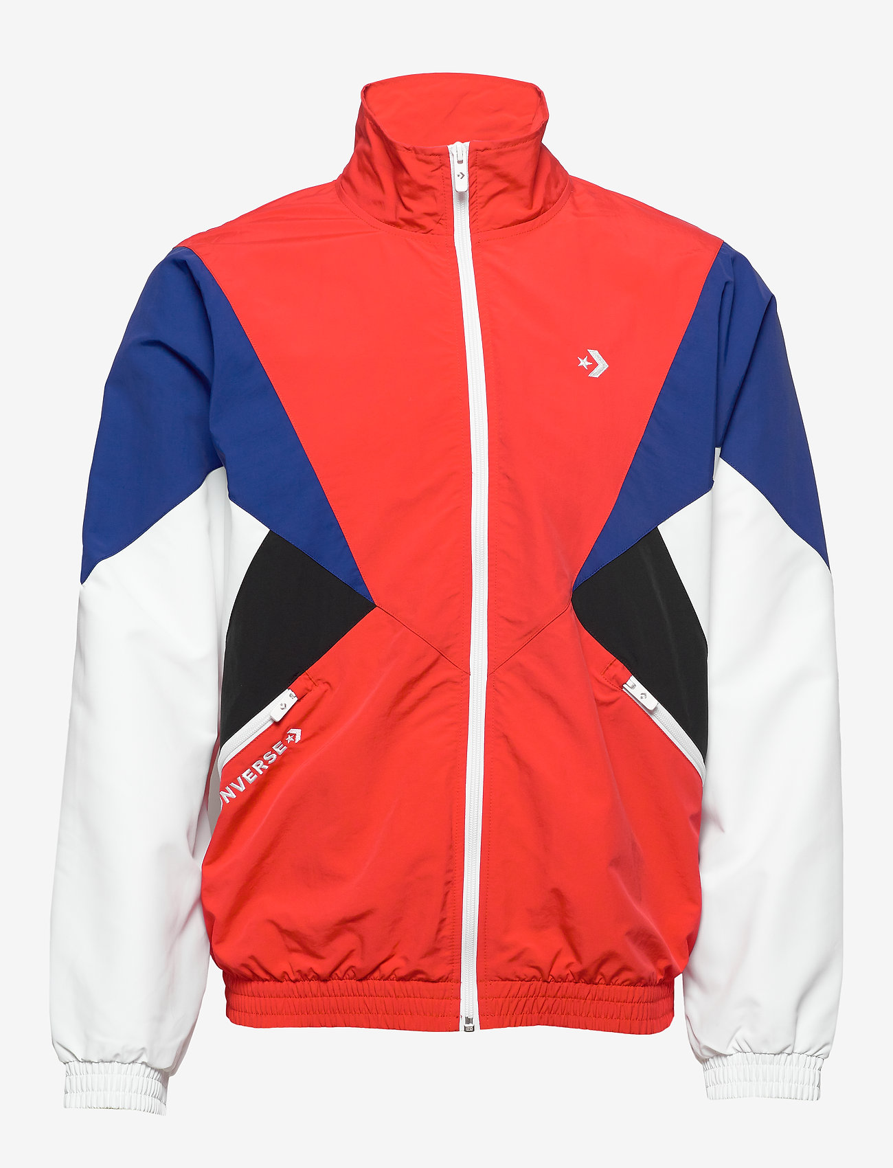 Converse - ARCHIVE TRACK JACKET RED MULTI - athleisure jackets - university red multi - 1