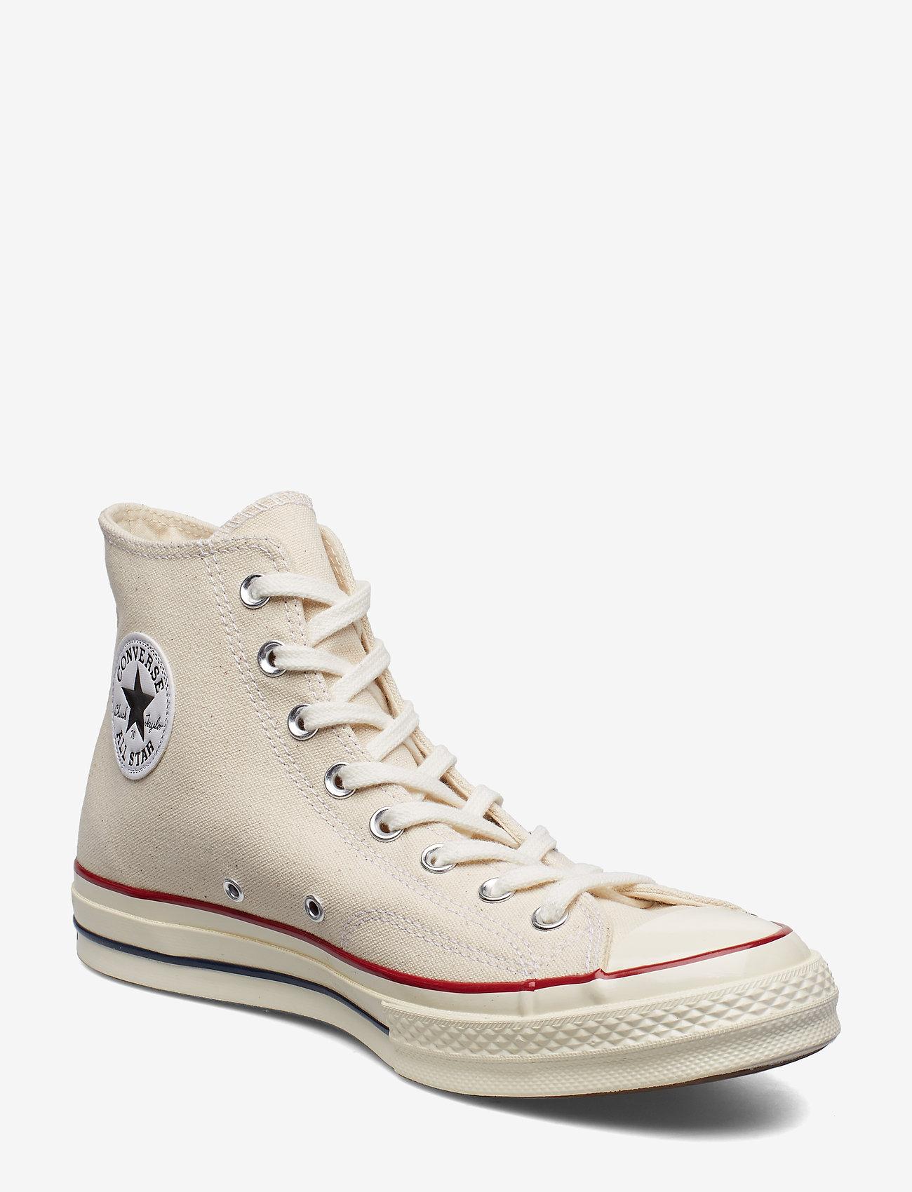 Converse - CHUCK 70 HI - korkeavartiset tennarit - parchment/garnet/egret