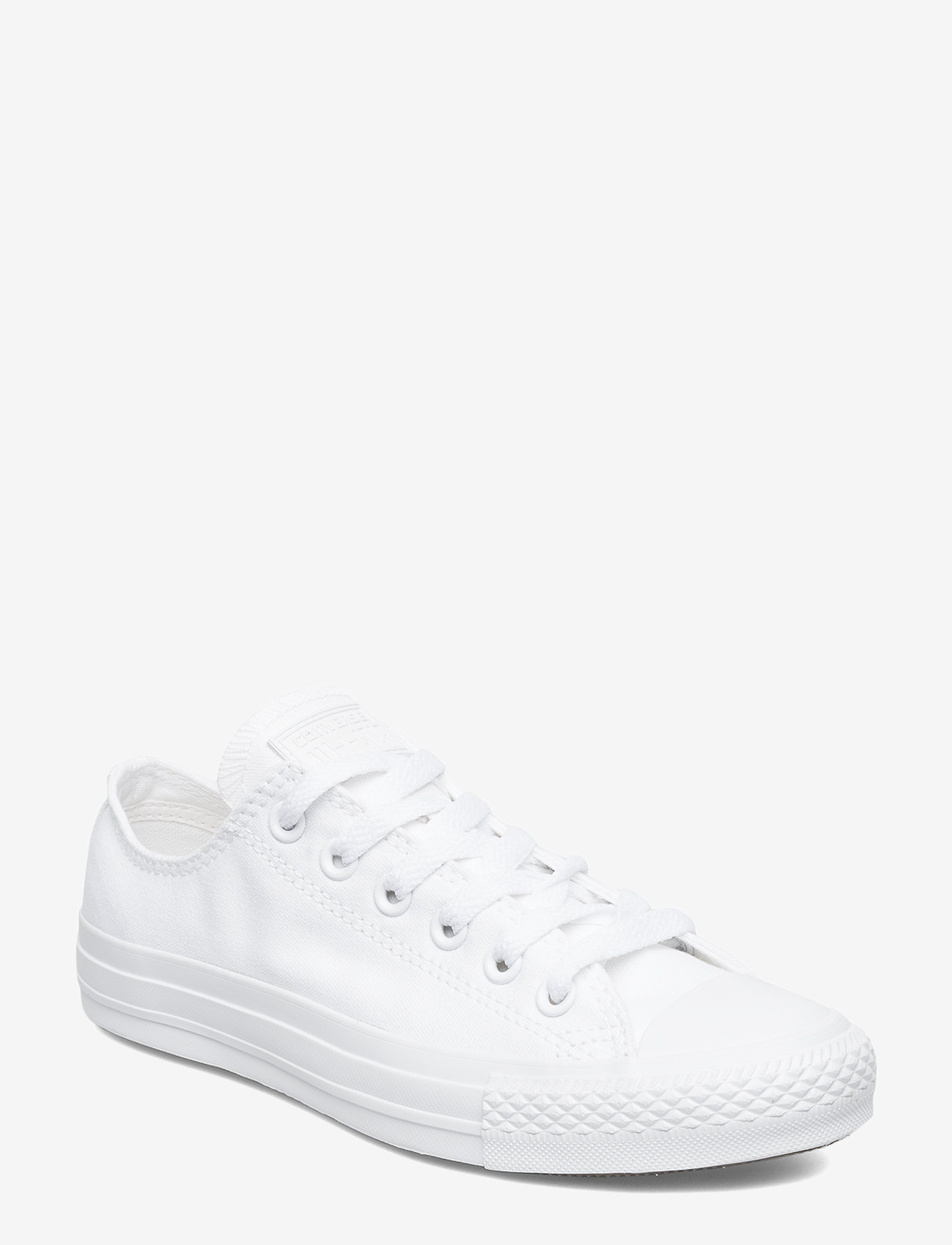 Converse - All Star Canvas Ox - sneakers - white monochrome - 0
