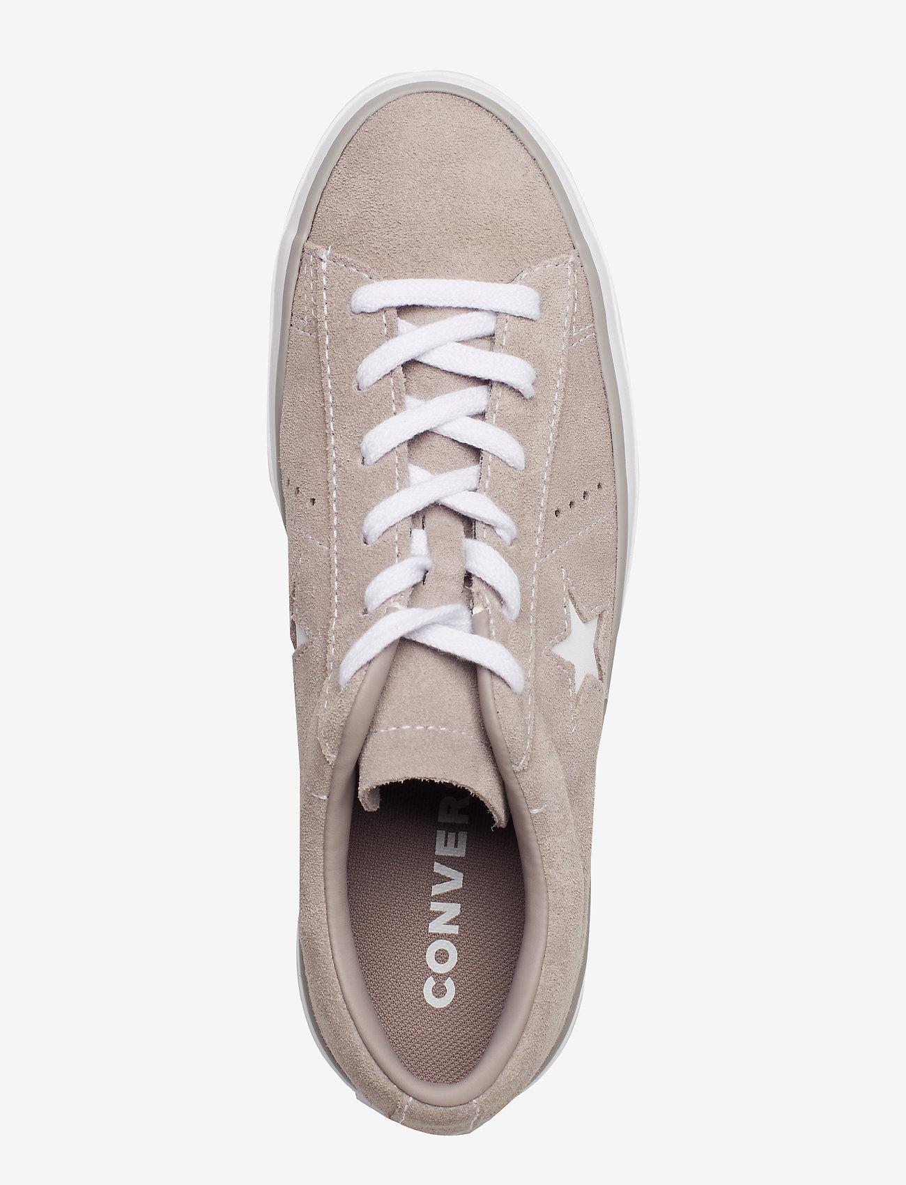 One Star Platform Ox (Mercury Grey/mercury Grey) - Converse