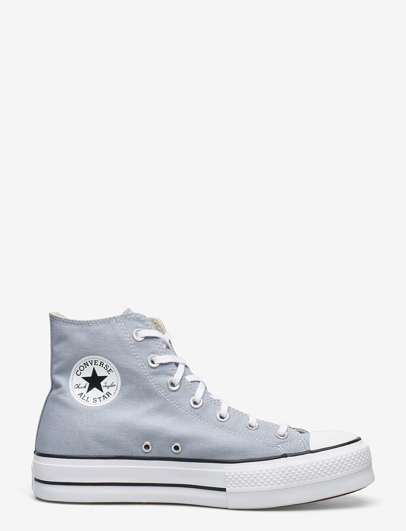Converse - CTAS LIFT HI OBSIDIAN MIST/WHITE/BLACK - hoge sneakers - obsidian mist/white/black - 1