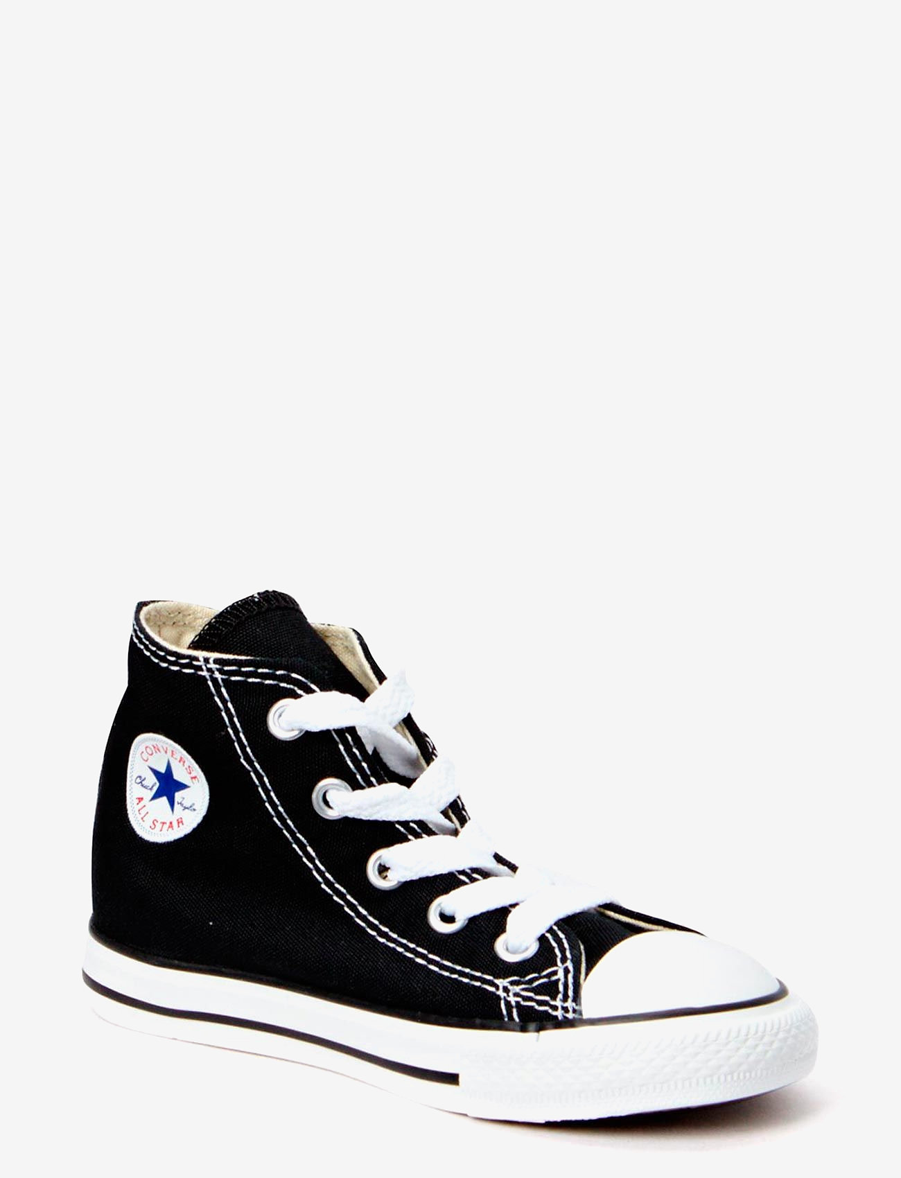 Converse - Small Star Canvas Hi - sneakers - black - 0