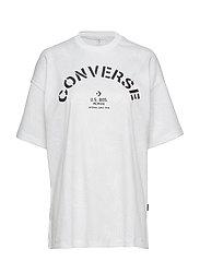 Converse Areca Palm Mesh Boxy Tee - WHITE