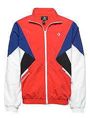 ARCHIVE TRACK JACKET RED MULTI - UNIVERSITY RED MULTI