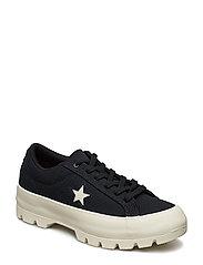 ONE STAR LUGGED OX - BLACK/BLACK/EGRET
