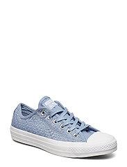 Ctas Ox Lave Sneakers Blå CONVERSE
