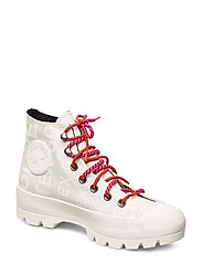 CHUCK TAYLOR ALL STAR LUGGED WINTER - EGRET/PRIME PINK