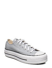 Chuck Taylor All Star Lift - WOLF GREY/WHITE/BLACK