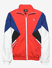 Converse - ARCHIVE TRACK JACKET RED MULTI - athleisure jackets - university red multi - 0