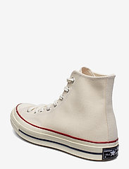 Converse - CHUCK 70 HI - korkeavartiset tennarit - parchment/garnet/egret - 2