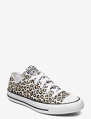 Converse - CTAS OX - sneakers - black/driftwood/light fawn - 0