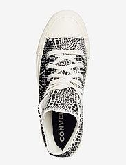Converse - CTAS HI EGRET/BLACK/EGRET - hoge sneakers - egret/black/egret - 3