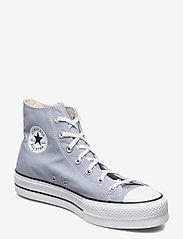 Converse - CTAS LIFT HI OBSIDIAN MIST/WHITE/BLACK - hoge sneakers - obsidian mist/white/black - 0