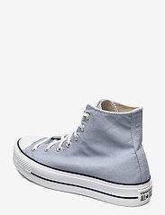 Converse - CTAS LIFT HI OBSIDIAN MIST/WHITE/BLACK - hoge sneakers - obsidian mist/white/black - 2