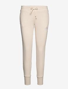 CONVERSE SC EMB SIGNATURE PANT - pants - natural ivory