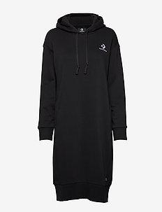 Converse Star Chevron EMB Long Dress - sportskjoler - converse black