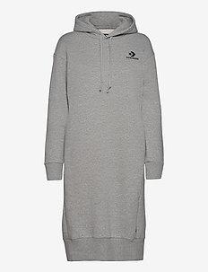 Converse Star Chevron EMB Long Dress - sportskjoler - grey