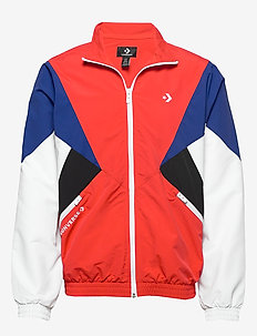 ARCHIVE TRACK JACKET RED MULTI - athleisure jackets - university red multi