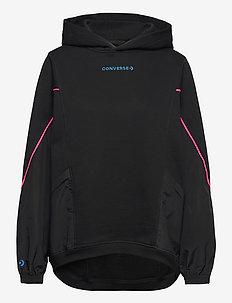 BLOCKED ALT TERRAIN HOODIE BLACK - sports jackets - black