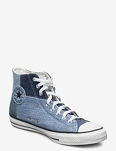 CHUCK TAYLOR ALL STAR - höga sneakers - light blue/dark blue