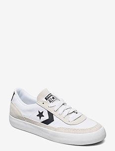 NET STAR CLASSIC OX WHITE/BLACK/EGRET - låga sneakers - white/black/egret