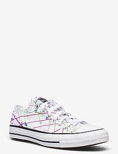 CTAS OX WHITE/MULTI/WHITE - lave sneakers - white/multi/white