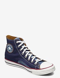 CTAS HI MIDNIGHT NAVY/VINTAGE WHITE - hoog sneakers - midnight navy/vintage white
