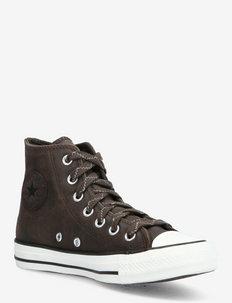 CHUCK TAYLOR ALL STAR - korkeavartiset tennarit - brown