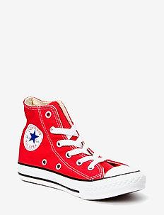 YTHS C/T ALLSTAR HI - sneakers - red